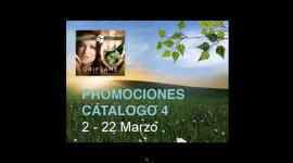 Comienzo del Catlogo 4 de Oriflame