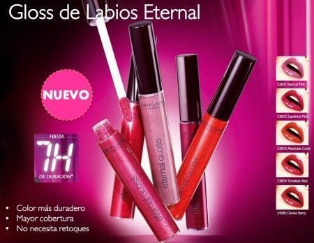 eternal gloss oriflame