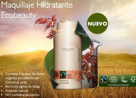 maquillaje ecobeauty oriflame