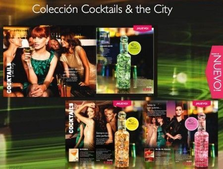 perfumes cocktail oriflame