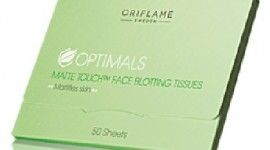 Probando las Toallitas Anti-brillos faciales Matte Touch de Oriflame. Adios Brillos!