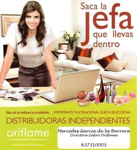 SacaLaJefa ORIFLAME