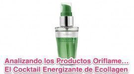 Analizando lo Productos Oriflame&#8230; Cocktail Energizante Ecollagen