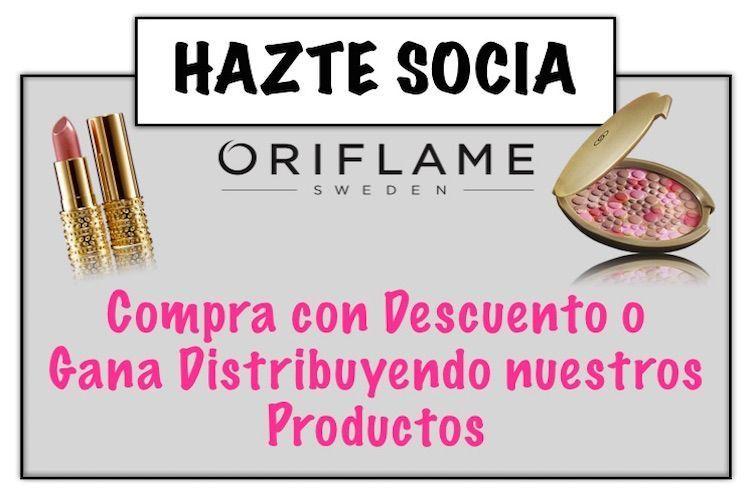 Hazte Socia y compra con Descuento en Oriflame