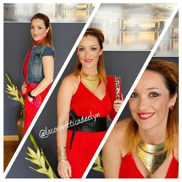 Red Jumpsuit: 1 prenda, 2 outfits