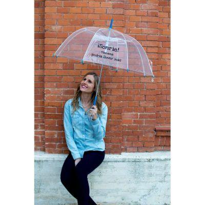 Paraguas Trasparentes