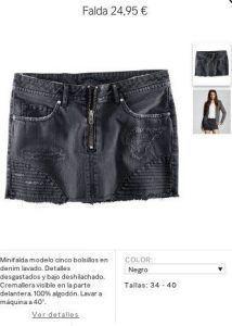 falda look 26Dic moda lacosmeticadeelyn