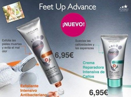 feet up oriflame