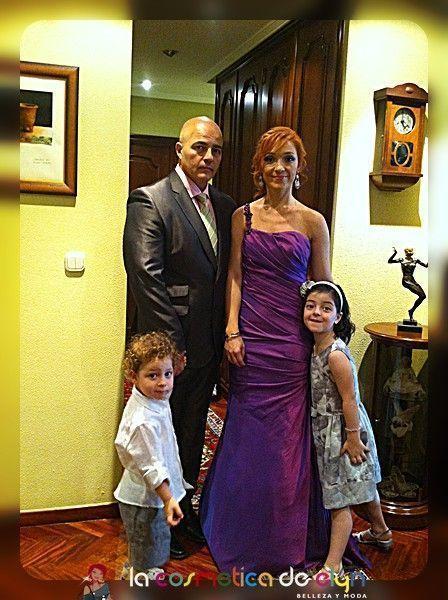 familia de boda