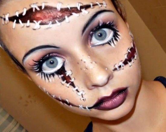 maquillaje-halloween-doll