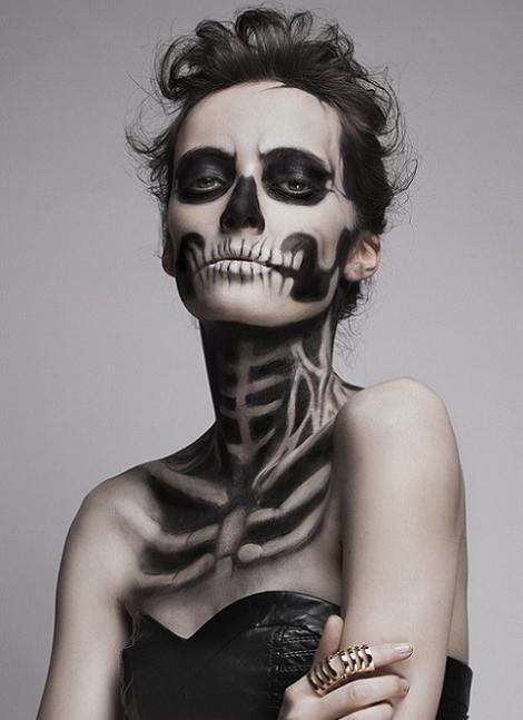 maquillaje-halloween-esqueleto