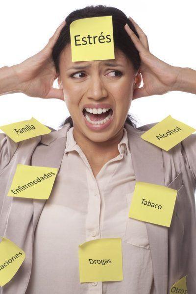 efectos del estres en nuestro rostro