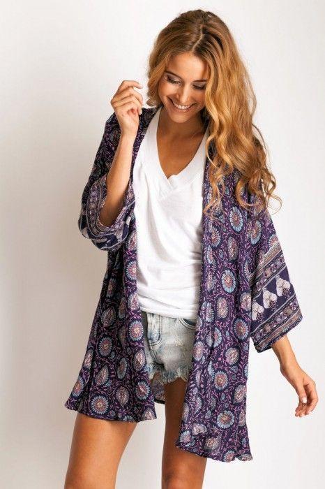 kimono vaquero