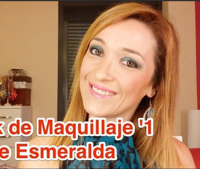 Look de Maquillaje '1 – Verde Esmeralda