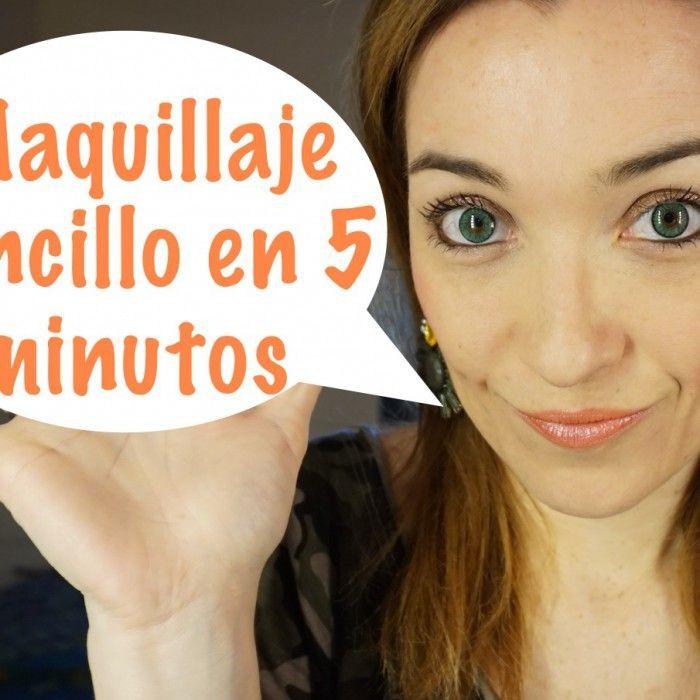 Maquillaje sencillo en 5 minutos para el día a día