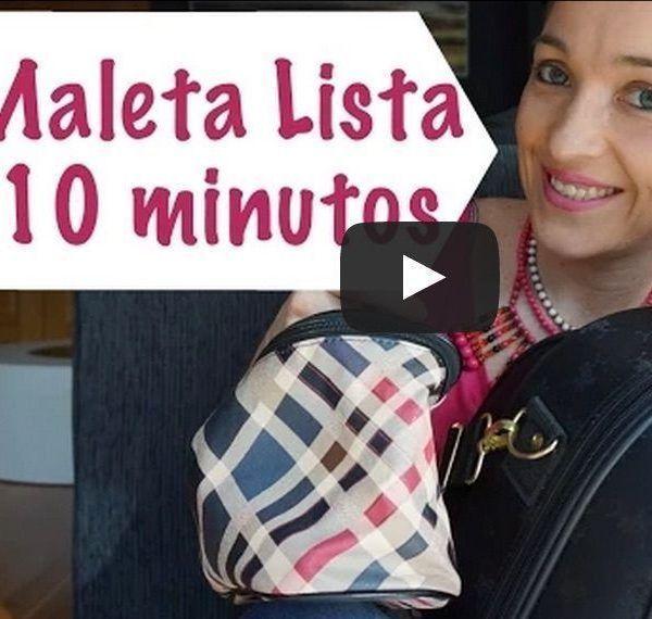 Cómo tener tu maleta lista en 10 minutos