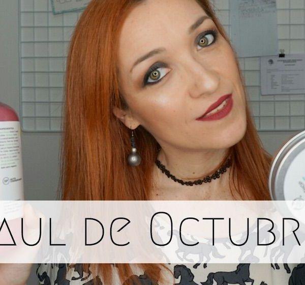 Haul de Octubre: Lush, Urban Decay, Kiko, Nyx, Burlesque..