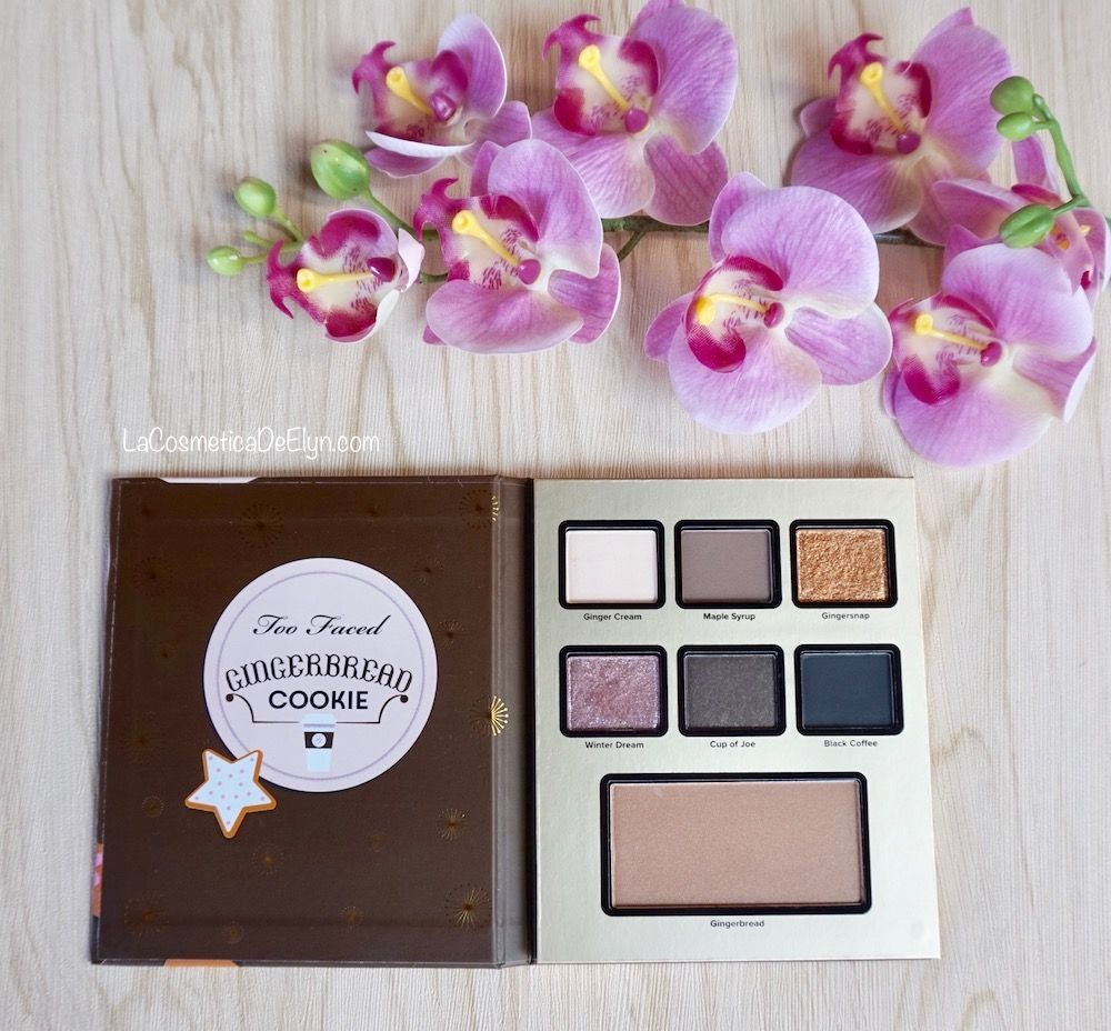 too faced gingerbread paleta