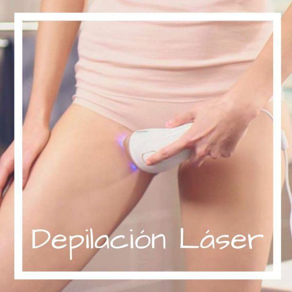 Depilación láser en zonas poco frecuentes