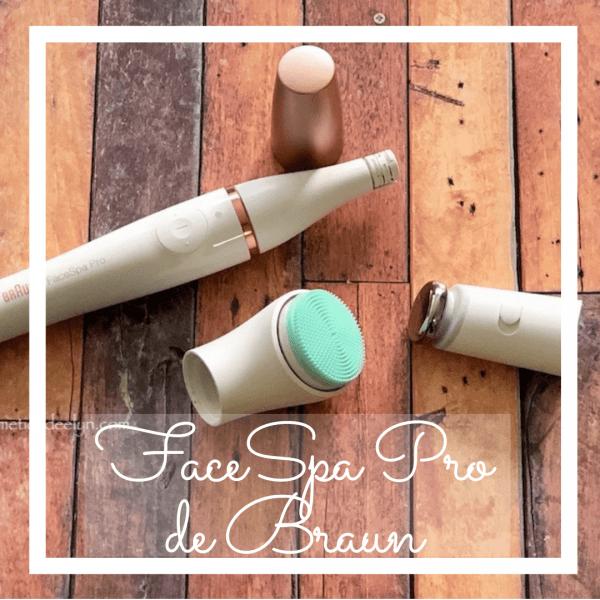 Braun FaceSpa Pro. 3 cabezales que harán tu rutina facial más completa