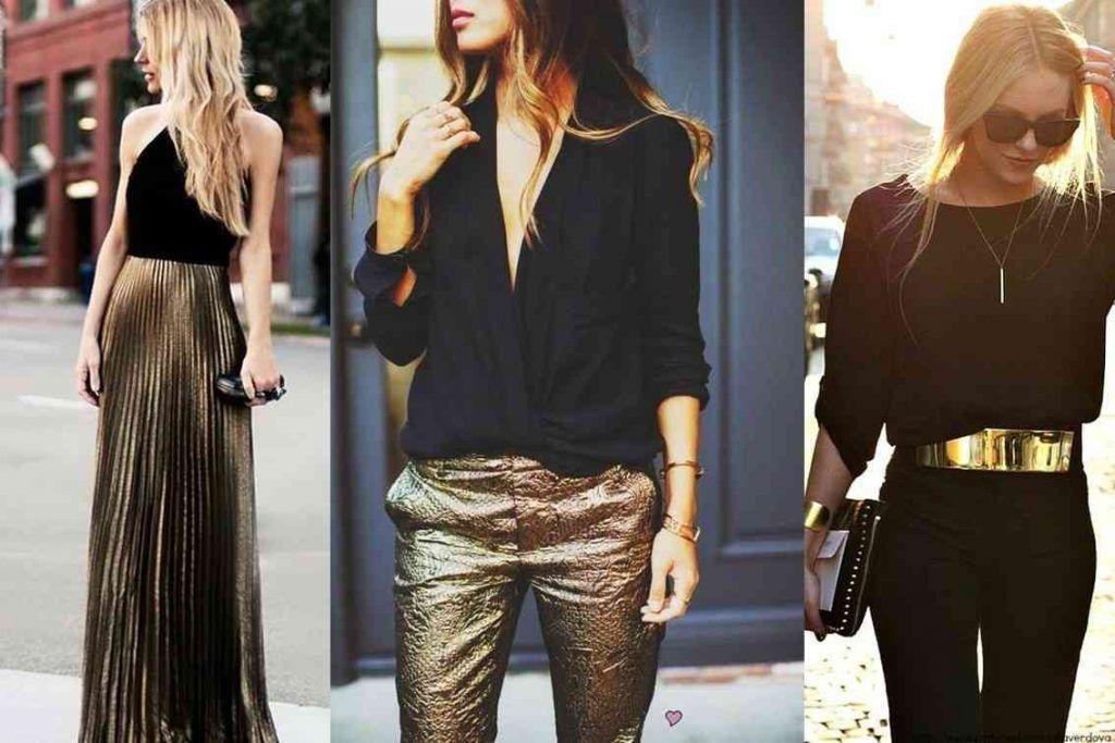 outfits-dorado-negro