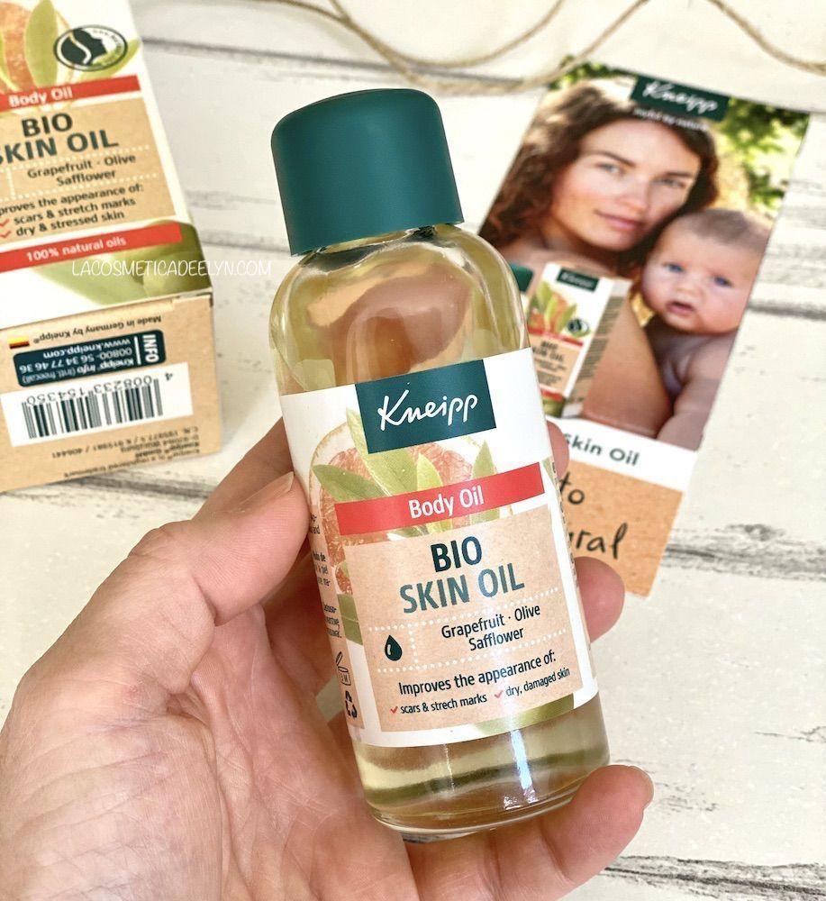 aceite corporal bio de kneipp