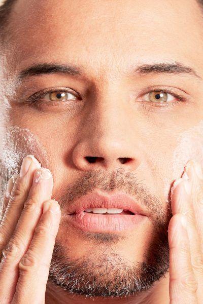 cuidado piel hombre